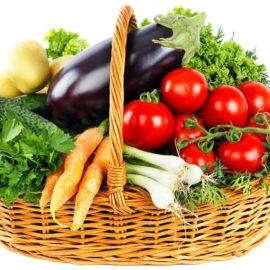panier légumes bio frais