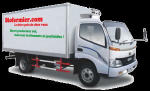 camion frigo livraison produits bio