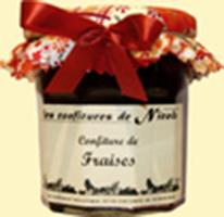 Confiture de fraises bio