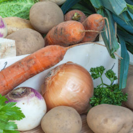 ensemble légumes bio pot au feu